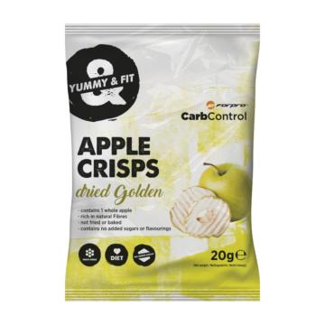 Forpro Apple Crisps almaszirom 20g - Golden