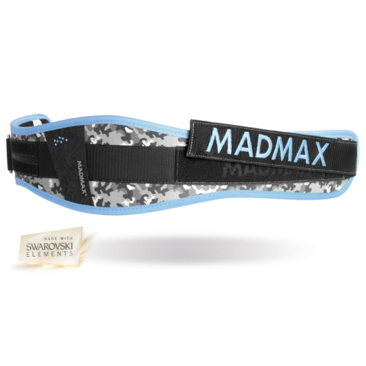 Madmax WMN Conform Blue női öv (Swarovski kövekkel)