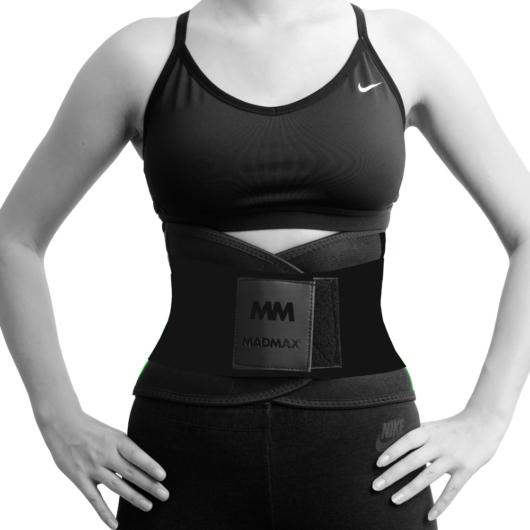 MADMAX Slimming Belt (karcsúsító öv) - Black