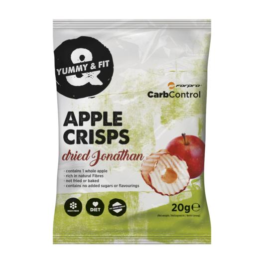 Forpro Apple Crisps almaszirom 20g - Jonathan