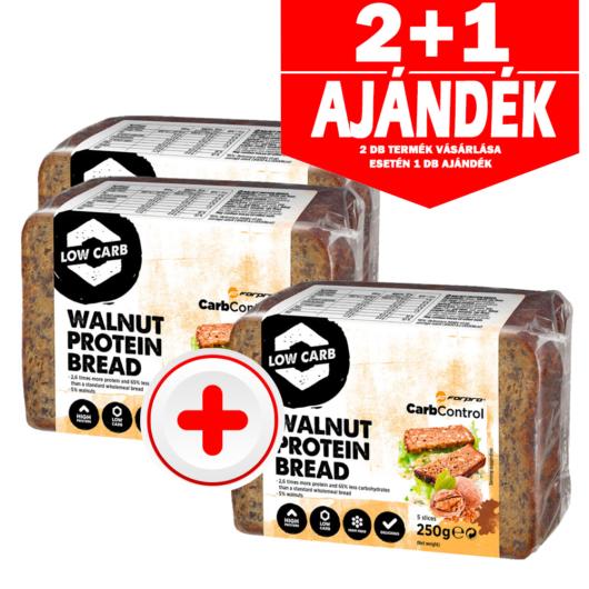 Forpro Walnut Protein Bread - 250g - 2+1 akció
