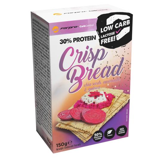 Forpro 30% Protein Crisp Bread - Chia seeds, Amaranth & Quinoa - 150g