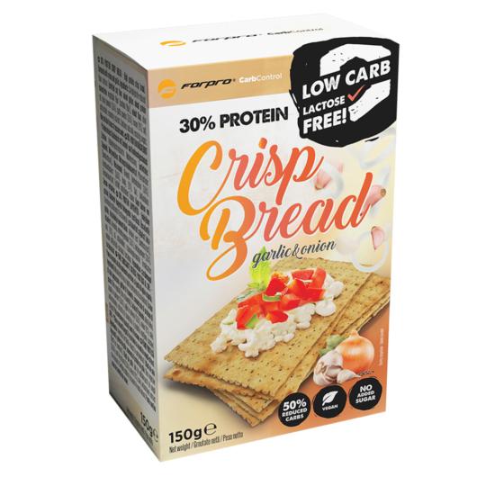 Forpro 30% Protein Crisp Bread Garlic & Onion - 150g