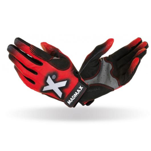 MADMAX X Gloves Red Crossfit kesztyű