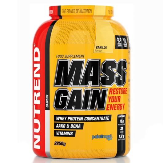 Nutrend Mass Gain tömegnövelő 2250 g