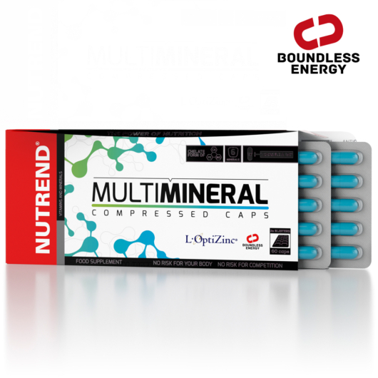 Nutrend MultiMineral Compressed Caps - 60 kapszula
