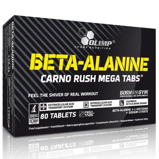 Olimp Beta-Alanine Carno Rush Mega Tabs® 80 tabletta