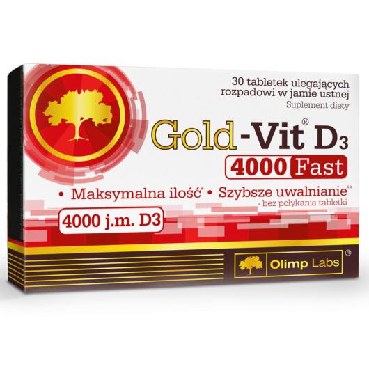 Olimp Gold-Vit D3 4000 FAST - 30 tabletta