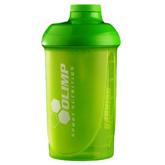 """OLIMP """"RUNNING IS CHEAPER..."""" Shaker 500ml - green"""