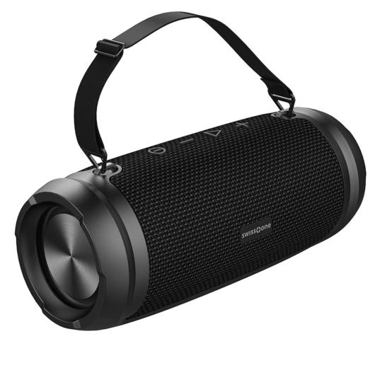 SWISSTONE BX 580 XXL Bluetooth hangszóró power bank funkcióval - black
