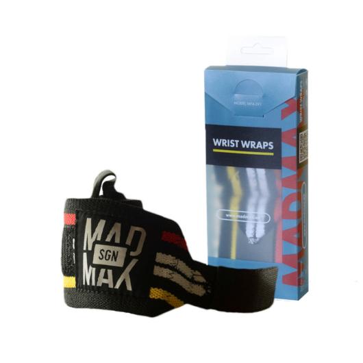 """MadMax Wrist wraps 18"""" csukószorító - 46 cm"""