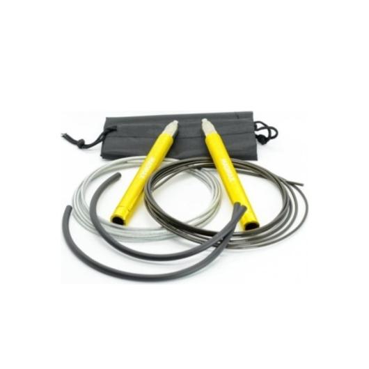 MADMAX Jump Speed Rope Yellow gyorsasági ugrálókötél