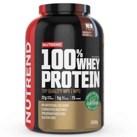 Nutrend 100% Whey Protein 2250g