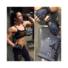 Kép 2/3 - MADMAX Oksana's Swarovski Elements Fitness női kesztyű