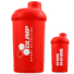"Kép 3/3 - OLIMP ""GO HARD OR GO HOME"" Shaker 500ml - red"